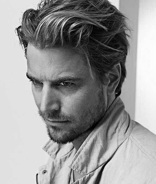 75 Men's Medium Hairstyles For Thick Hair - Manly Cut Ideas ...