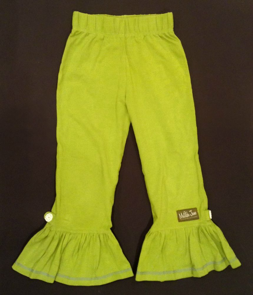 Ma matilda jane good luck trunk coupon code - Matilda Jane 8 House Of Clouds Envy Green Big Ruffles Pants