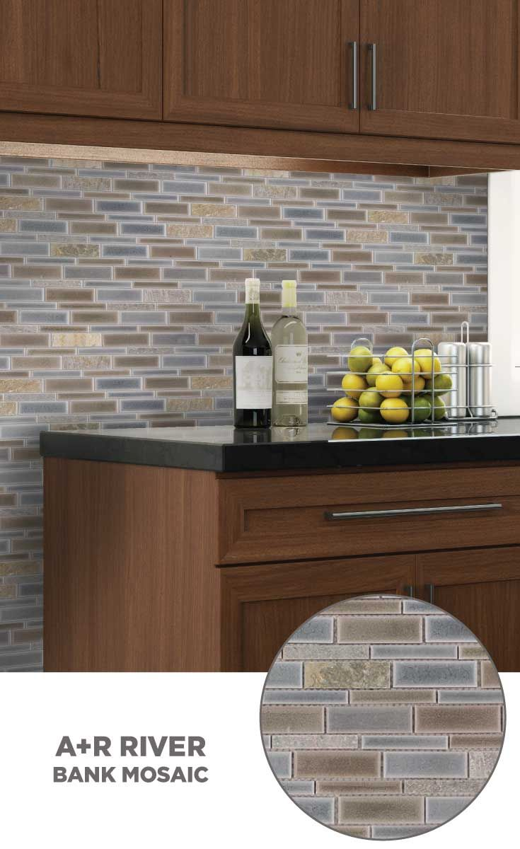 #tile #lowes #mosaics #glassmosaics #backsplash HI010BRBL1214 Available At  Loweu0027s And Lowes