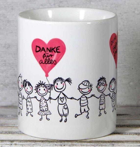 Becher & Tassen - Erzieherin Kindergärtnerin Abschied Geschenk Tasse - ein Designerstück von Tassen-Geschenke-by-MySweetheart bei DaWanda #abschiedsgeschenkerzieherin