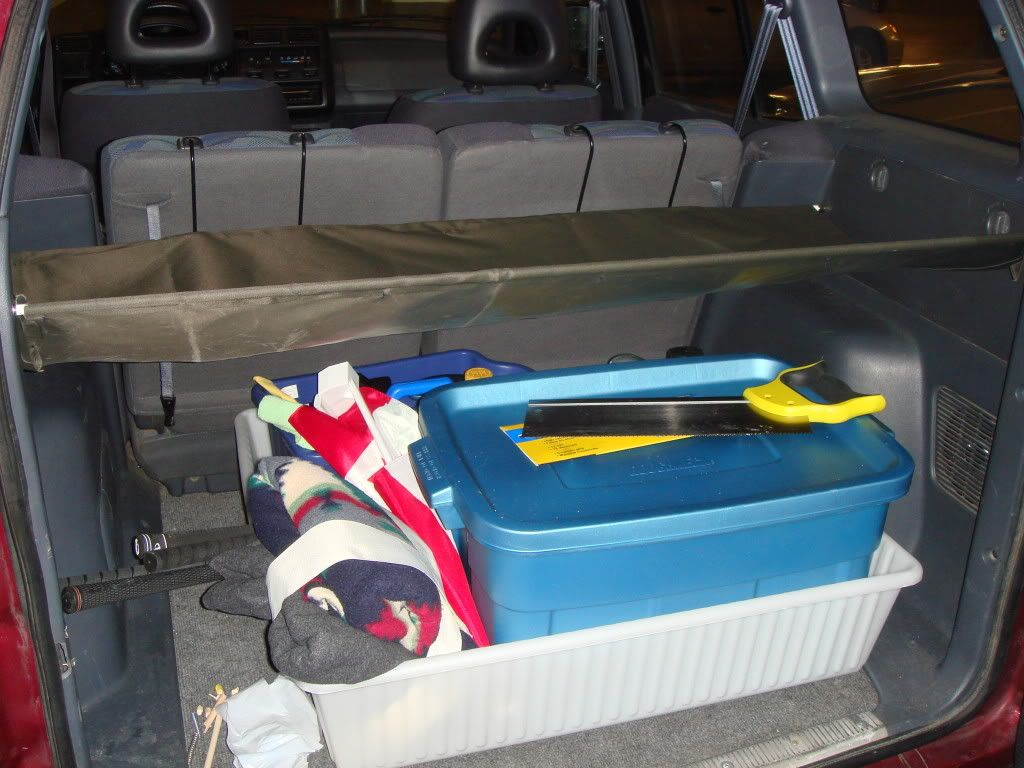 Diy Cargo Trunk Cover For Suv S Auto Pinterest Craft And Diy
