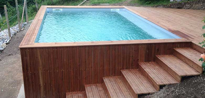 Photo of Piscine hors sol en bois : choisir sa piscine bois hors sol   Ozeobois