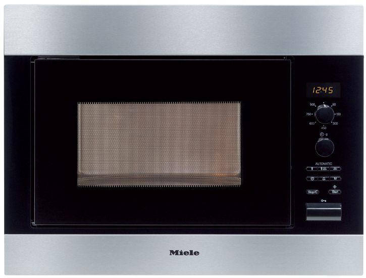 Miele M 8260 1 Microwave Oven Offers 11 Automatic Programs Memory For Up To 3 Stages Led Display And An Keep Warm Function