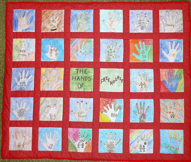 Friendship Quilt Preschool Craft