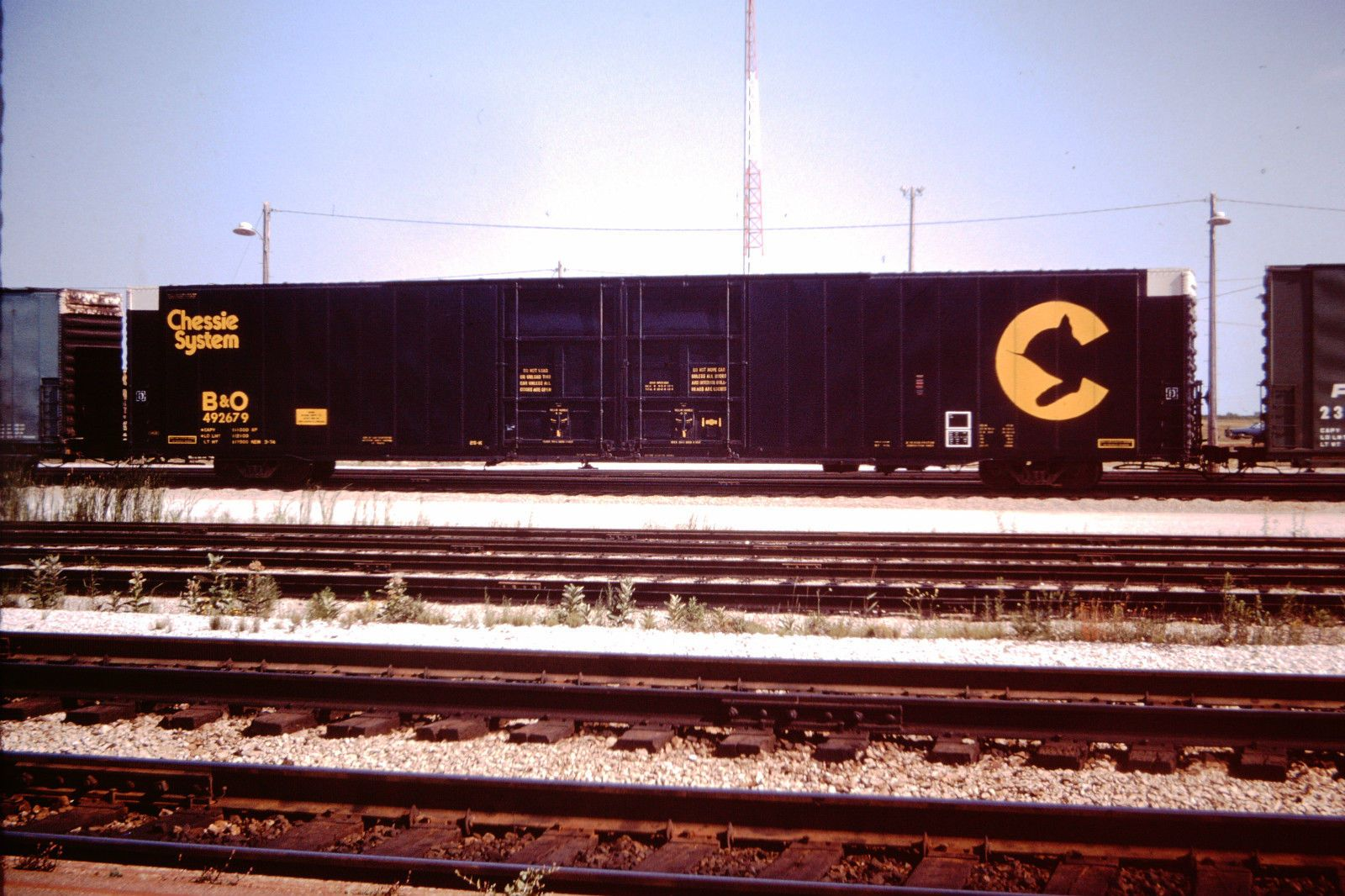 Chessie System 89 Auto Parts Boxcar B O 492679 On The Cn At