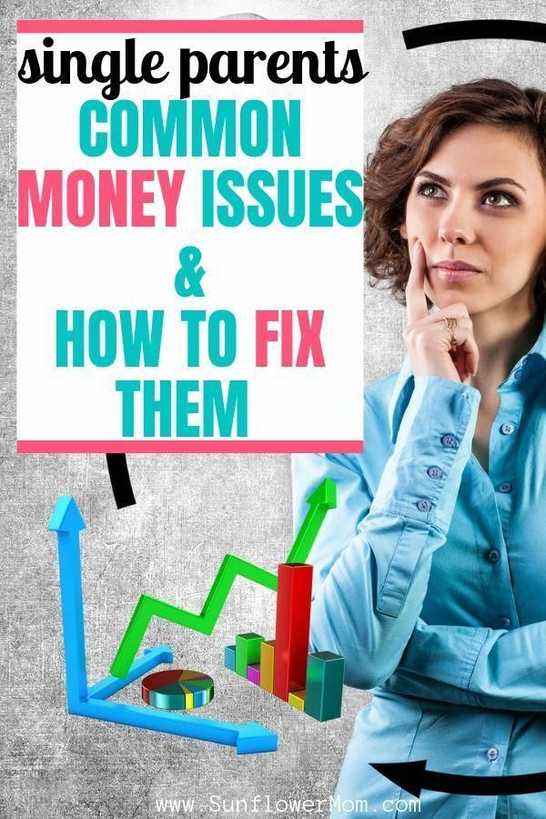 Single Parents Financial Problems & How to Them