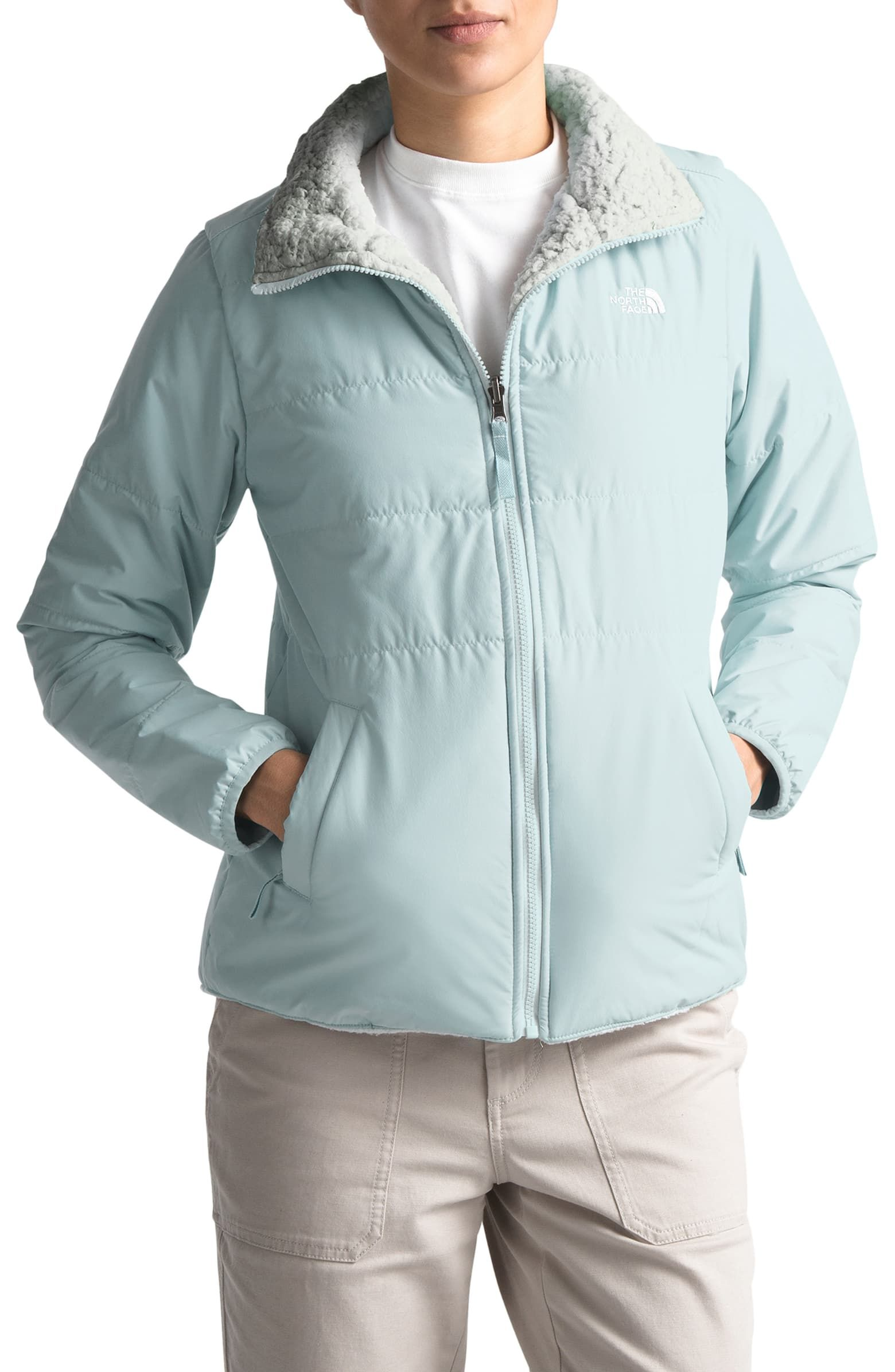 The North Face Merriewood Reversible Jacket Nordstrom Reversible Jackets Jackets The North Face [ 2392 x 1560 Pixel ]
