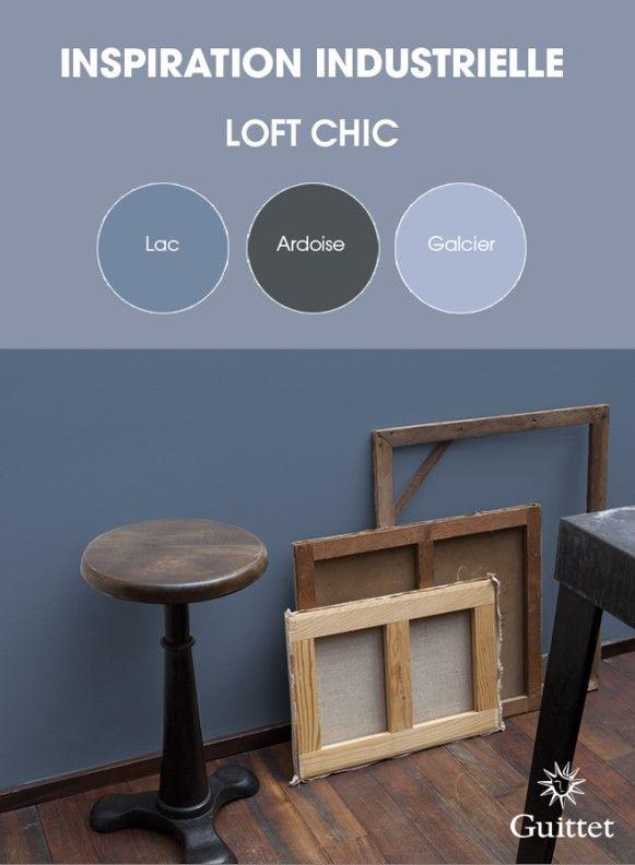 collection inspiration industrielle de guittet une. Black Bedroom Furniture Sets. Home Design Ideas