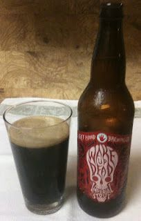 Wake Up Dead Imperial Stout from Left Hand Brewing Company