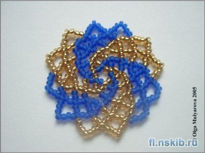 Beaded Napkin | biser.info - all about beads and bead work