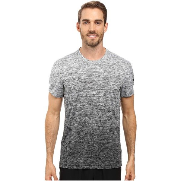 adidas Prime Gradient Tee (MGH Solid Grey/Black) Men's T Shirt ($28