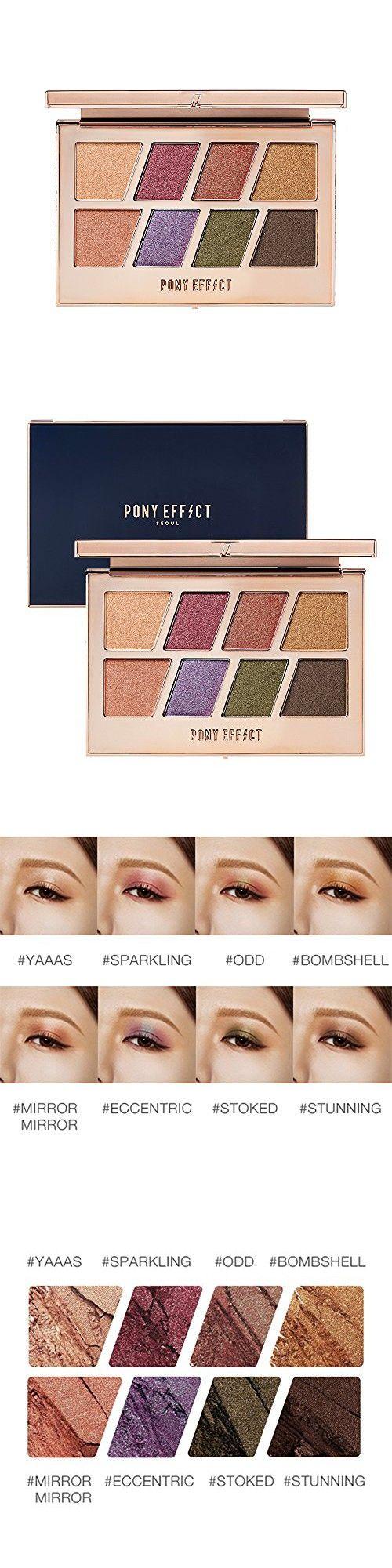 PONY EFFECT Master Eye Palette (Duochrome Shimmer) 11g, 4
