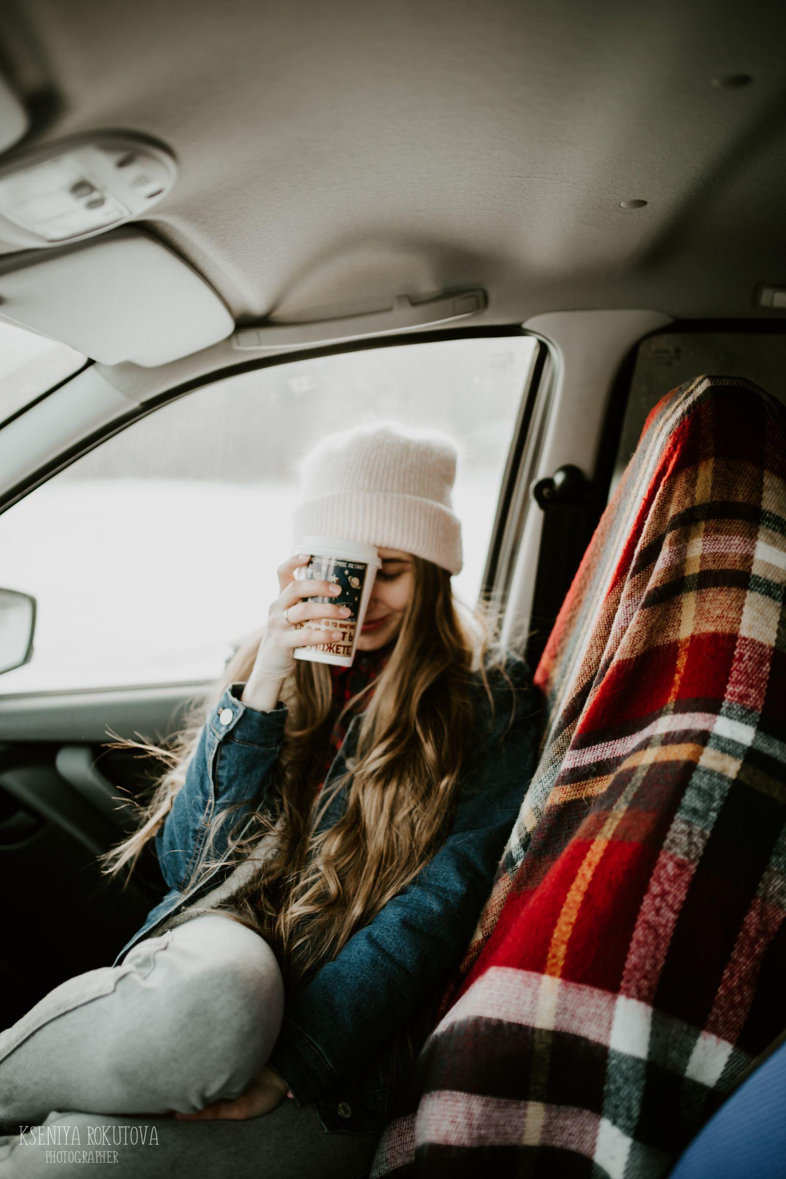 Фотосессия в машине, идеи для фото, зимняя фотосессия ...