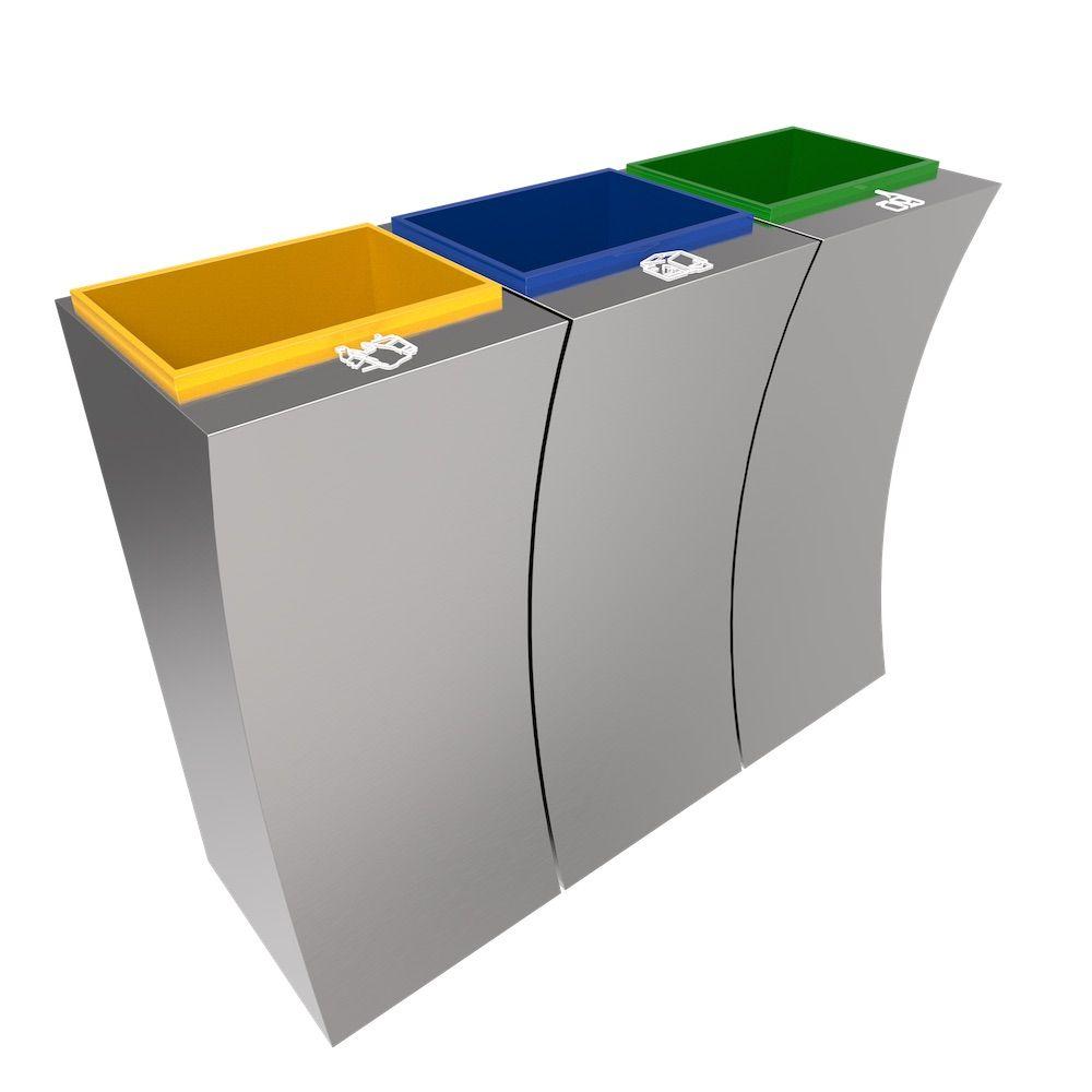 poubelle double bac cheap eko poubelle automatique mirage sensor inoxnoir l with poubelle. Black Bedroom Furniture Sets. Home Design Ideas