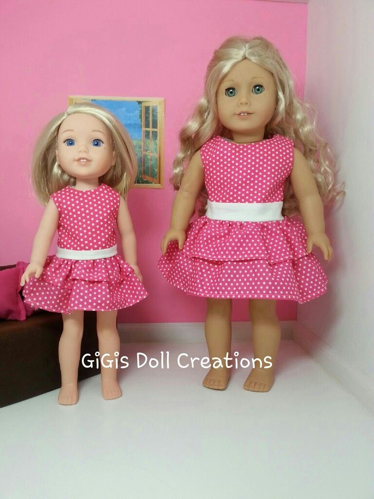 Fashion Quality 2 American 14.5 Inch Girl Wellie Doll Clothes for 14 Inch 14.