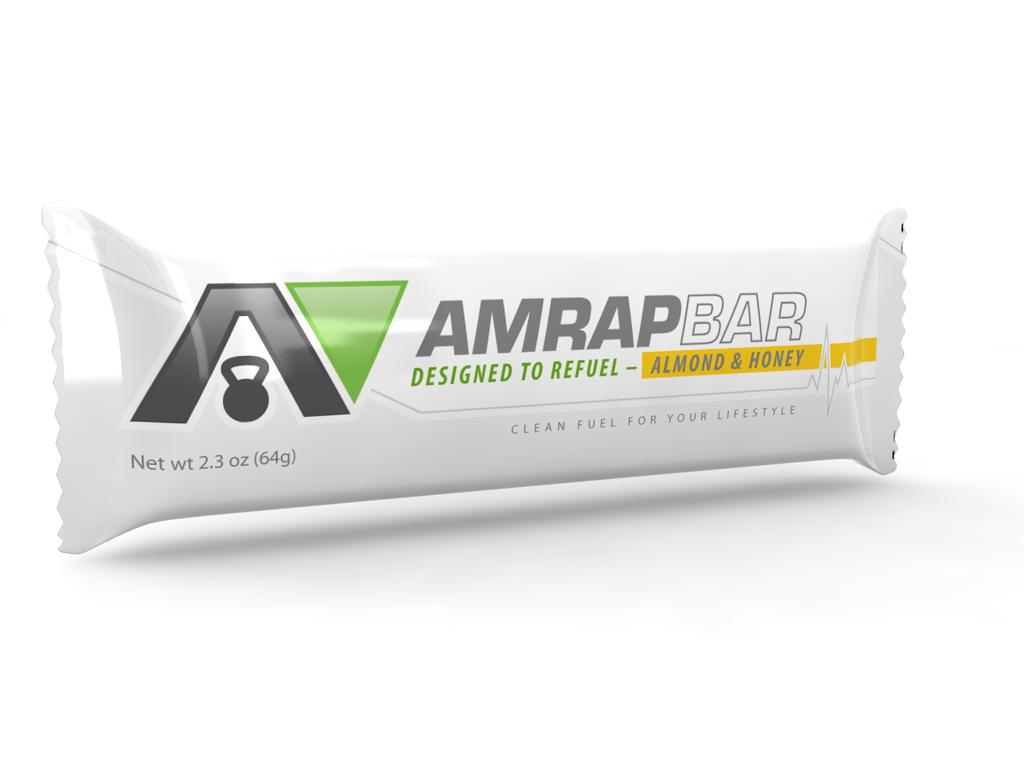 Live Travel Eat Run | Reviews AMRAP Nutrition paleo protein bar