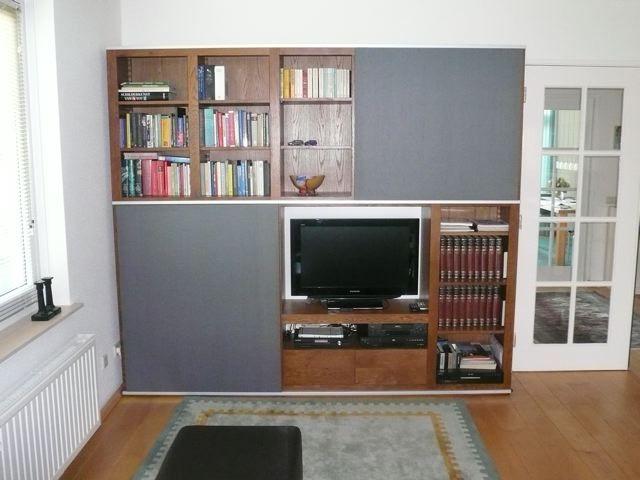 tv boekenkast | Tv meubel op maat | Pinterest