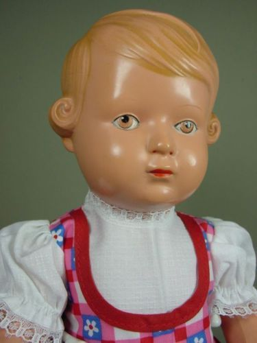 P927-Schildkroet-Inge-Celluloid-Puppe-35-cm-ca-1950