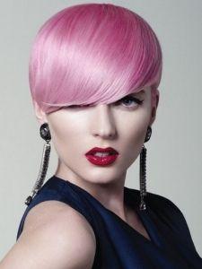 Bright Pink Hair Color Idea