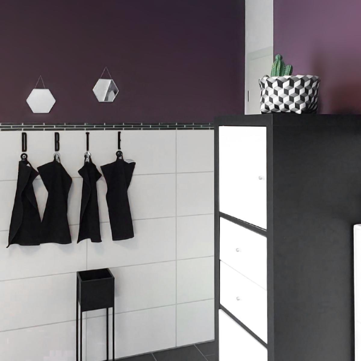 Was Ein Schones Neues Bad Mit Canary Wharf Toll Gemacht Bianca My Homestory Schoner Wohnen Farbe Bad Deko Ideen Neues Bad