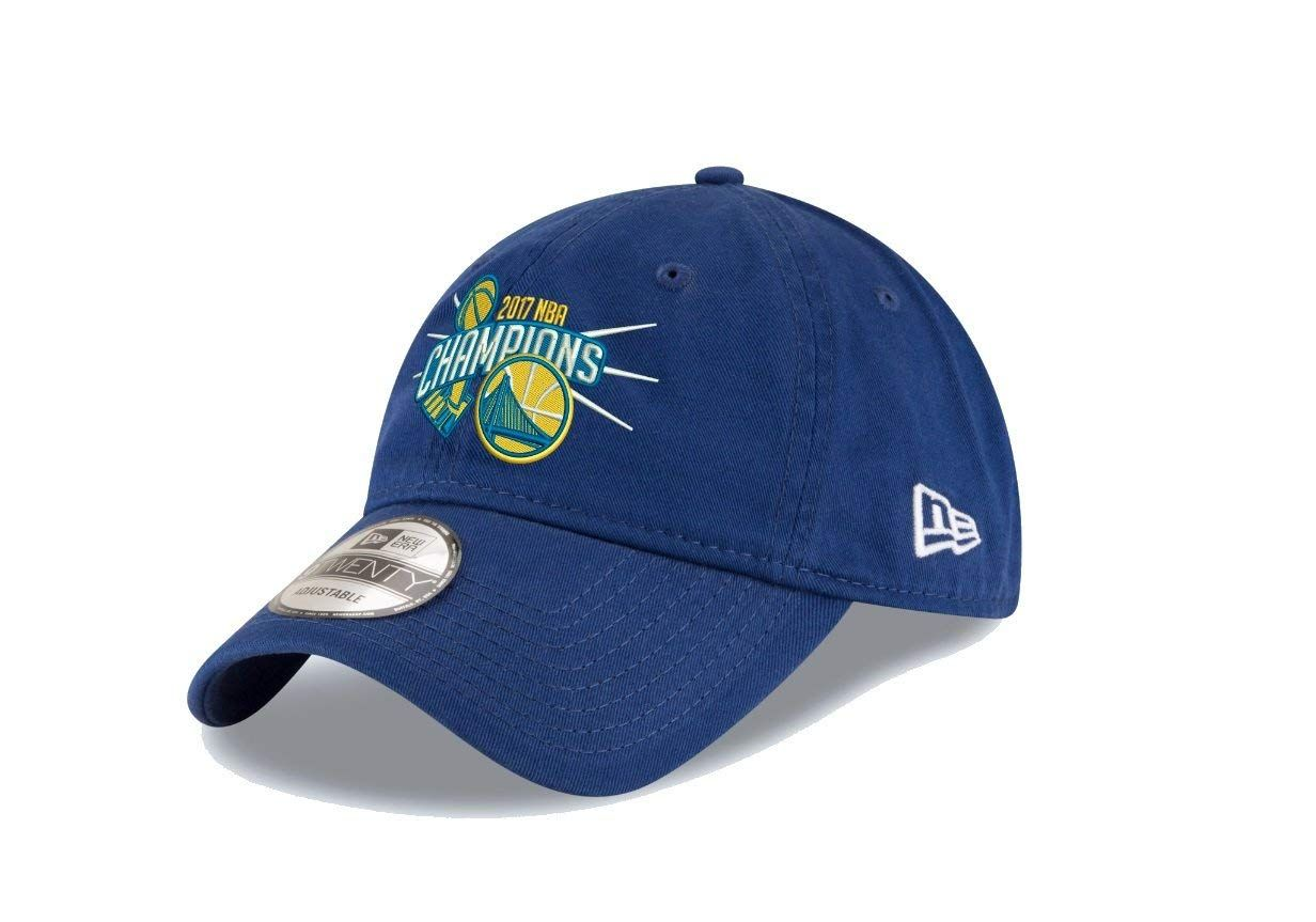 wholesale dealer b0f80 8b86f New Era Golden State Warriors 9TWENTY 2017 NBA Finals Champions Adjustable  Hat Cap,  11.99