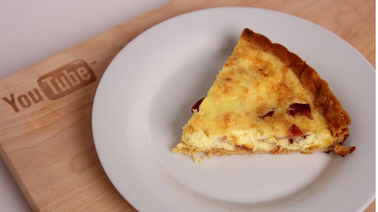 Homemade Quiche Recipe Laura Vitale Laura In The Kitchen Episode 395 Quiche Recipes Recipes Homemade Quiche