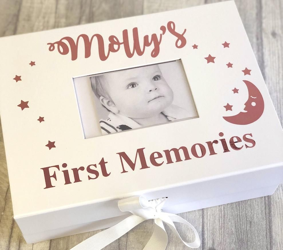 Personalised Baby Photo First Memories A4 First Birthday