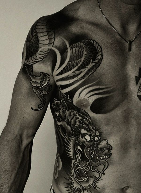Latest 50 Meaningful Dragon Tattoo Designs for Men and ...