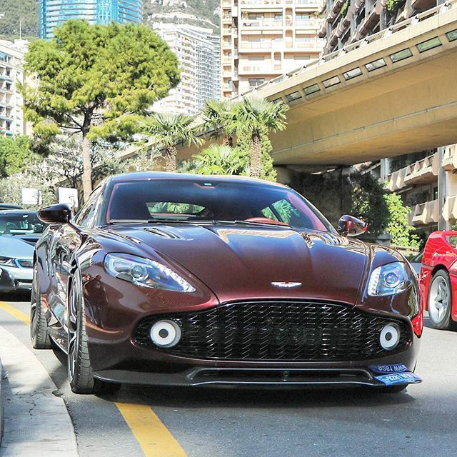 Aston Martin Vanquish Zagato Aston Martin Vanquish Aston Martin Aston