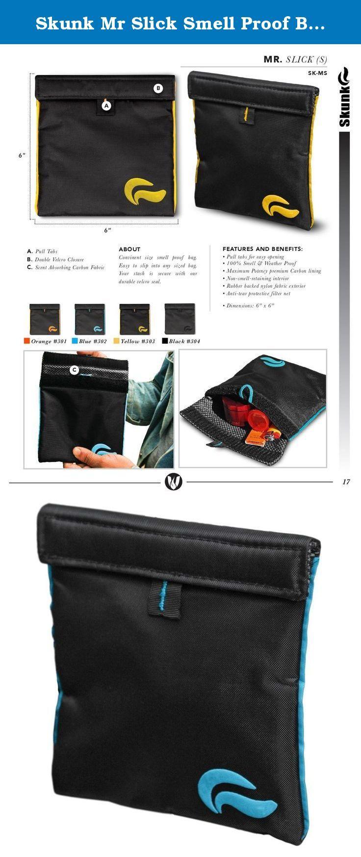 Skunk Mr Slick Smell Proof Bag 6 Black Blue
