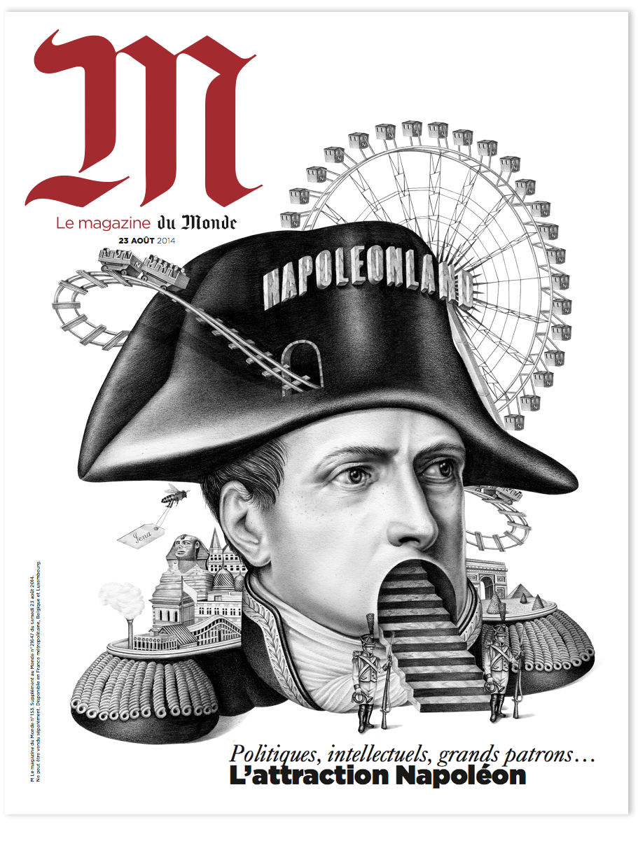 Napoleon M Le Monde On Behance Napoleon Graphic Design Inspiration New Art