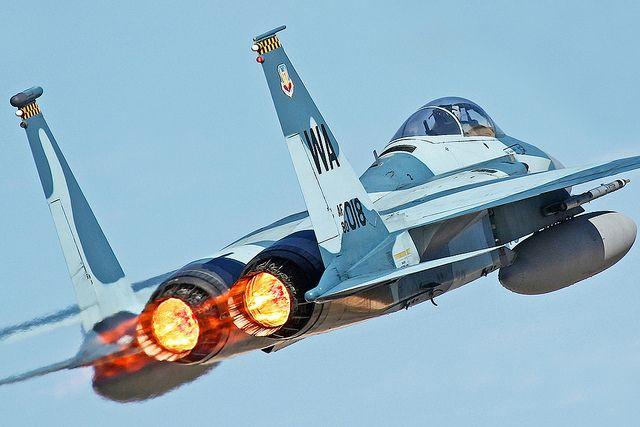 F-15 Afterburner.  Awesome shot