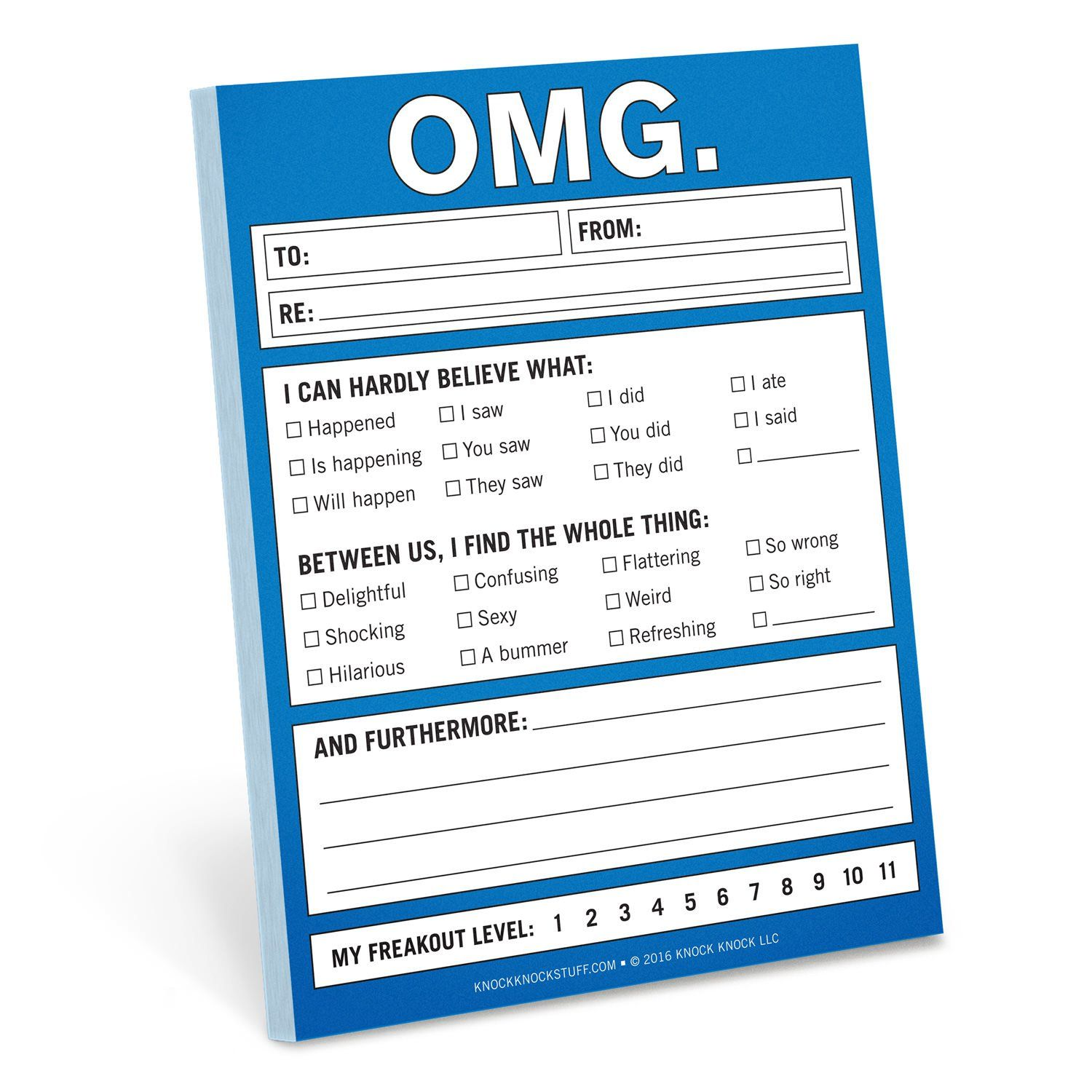 Knock Knock OMG. Nifty Notes are clever memo notepads and ...