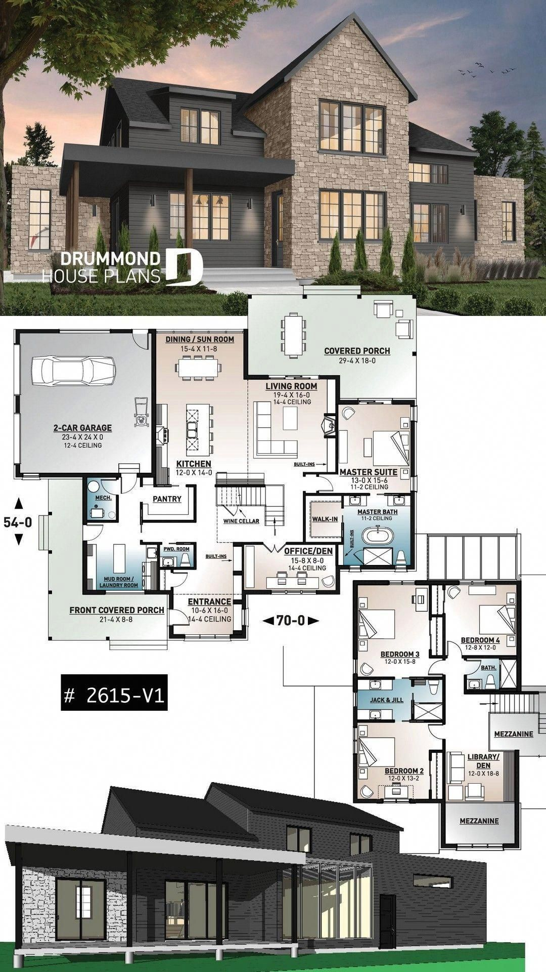 25 Awesome Minimalist Living Room Decor Ideas In 2020 Modern Farmhouse Plans Farmhouse Plans House Plans Farmhouse