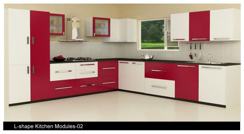 Interior design for small indian kitchen google search for Best material for kitchen cabinets in india