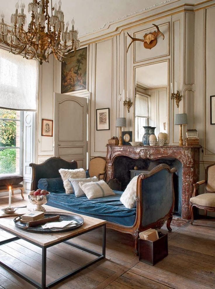 Royal Living Room Design: French Country Decorating Living Room