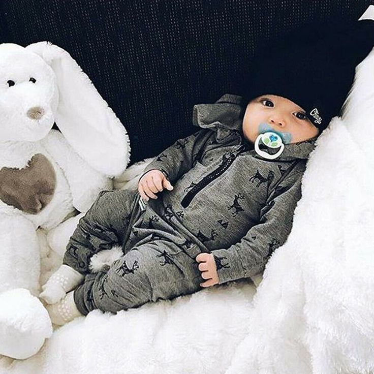Photo of Neugeborenes Baby Jungen mit Kapuze Strampler Jumpsuit Bodysuit Infant Kleidung Outfits Set | e … – New Ideas