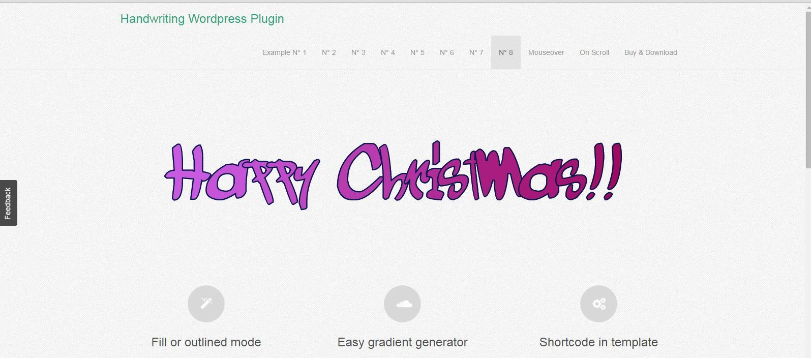 Responsive SVG Handwritting Text Animation WordPress