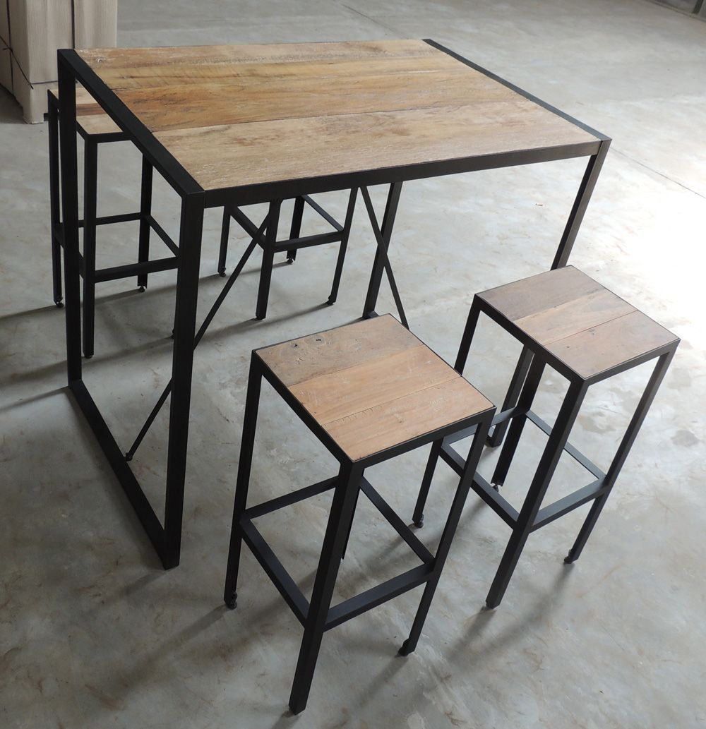tabouret de bar industriel google sweet home. Black Bedroom Furniture Sets. Home Design Ideas