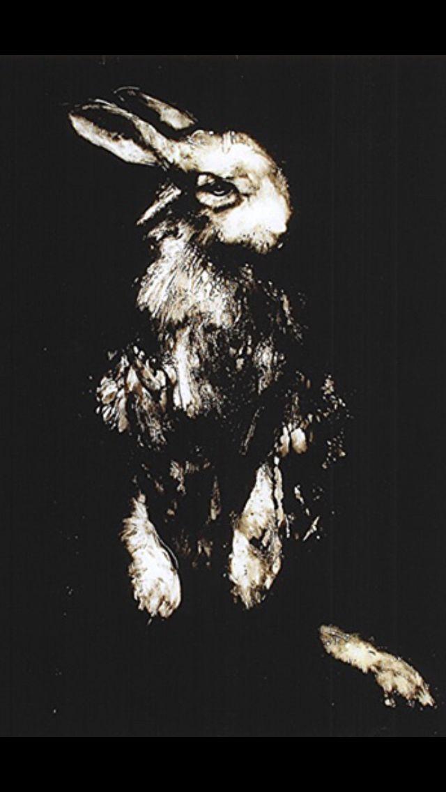 Standing Rabbit, monotype