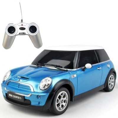 Carro de Controle Remoto Mini Cooper S Azul - CKS