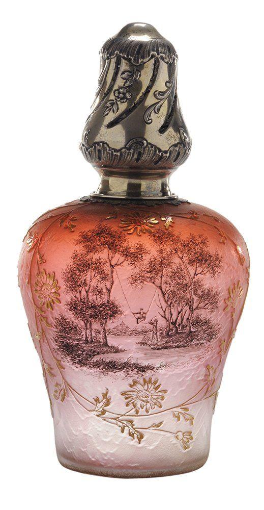 Daum Nancy a Nancy Perfume Burner, 1900