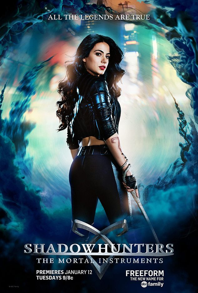 Isabelle Lightwood from Shadowhunters 101: Get to Know the Characters and the Ships