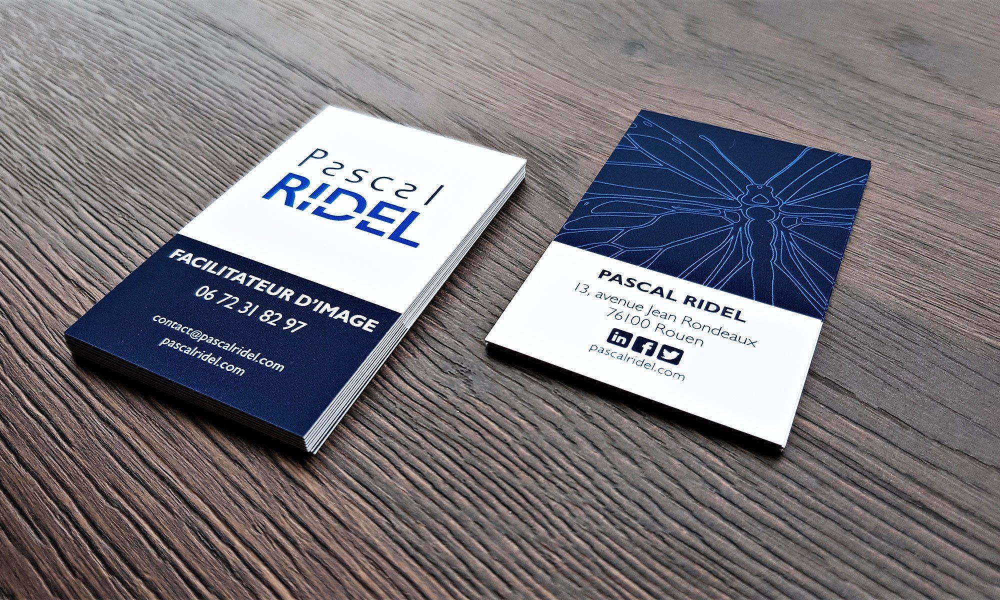 Infographiste Rouen Pascal Ridel Carte De Visite