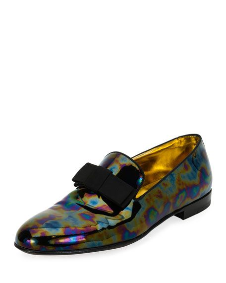 b0e9fff224164 BALLY Barks Petrol Patent Leather Formal Loafer