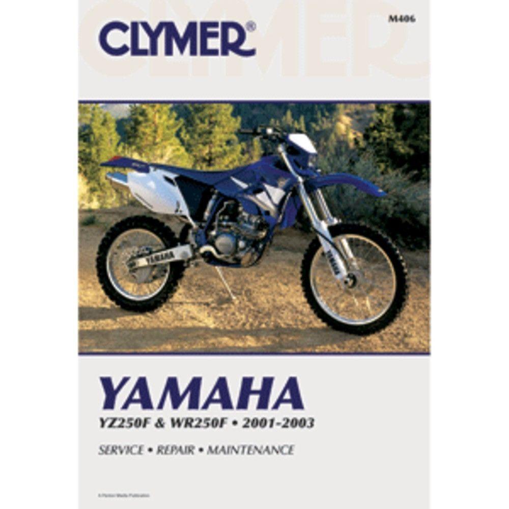clymer yamaha yz250f wr250f 2001 2003 products pinterest rh pinterest com 2001 yamaha yz250 manual pdf 2001 Yamaha YZ250F Graphics
