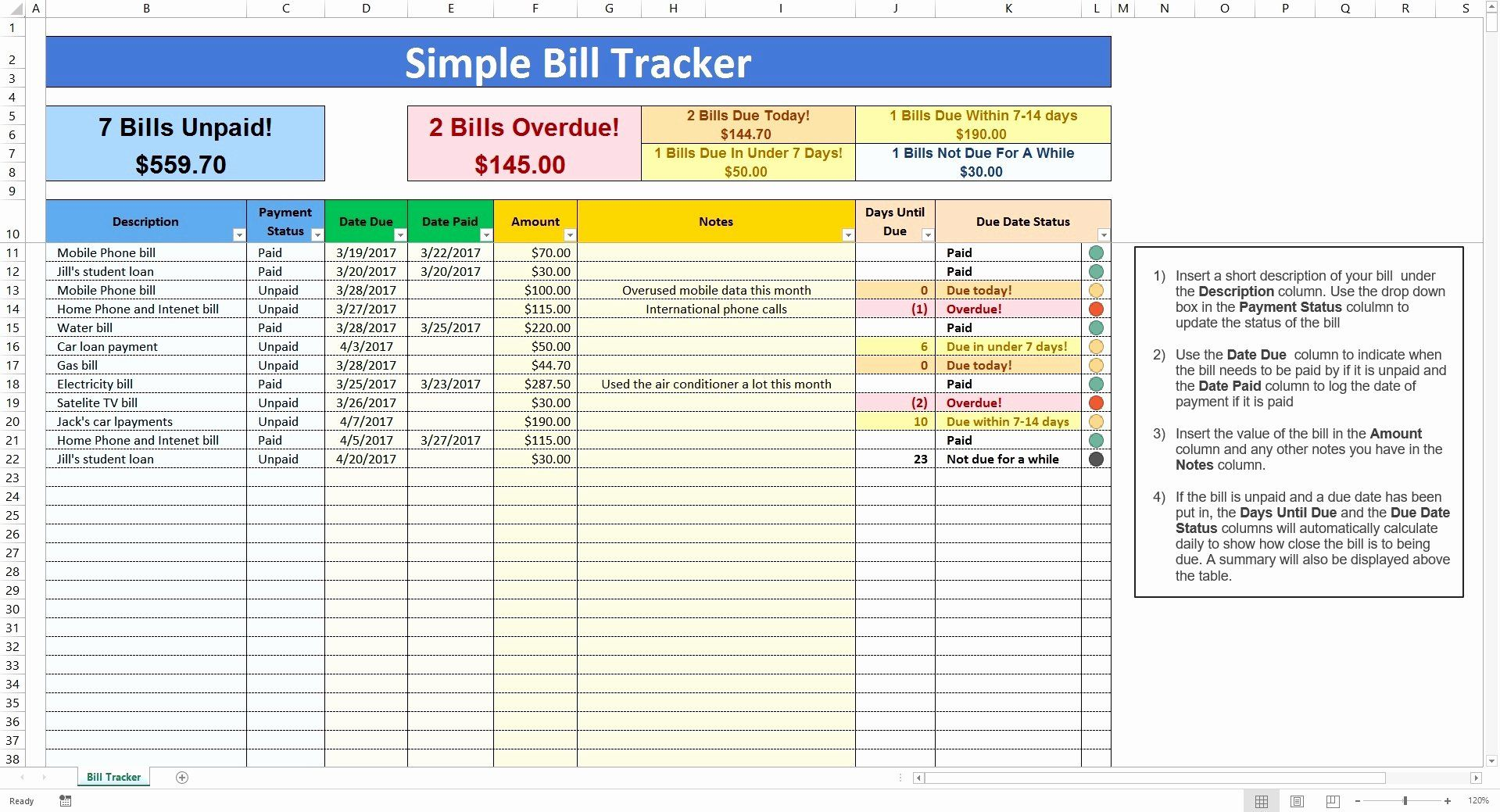 Bill Pay Spreadsheet Awesome Bill Pay Spreadsheet