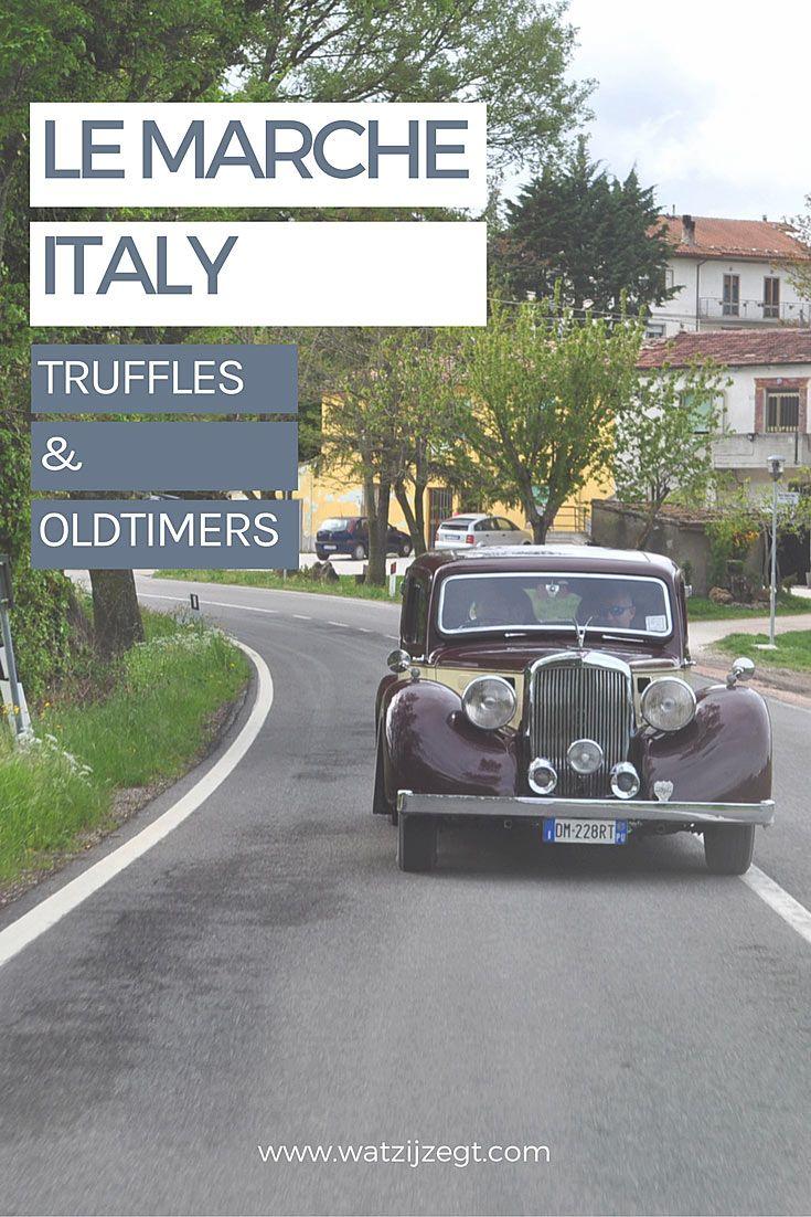 Truffels en oldtimers in Italiaans Le Marche