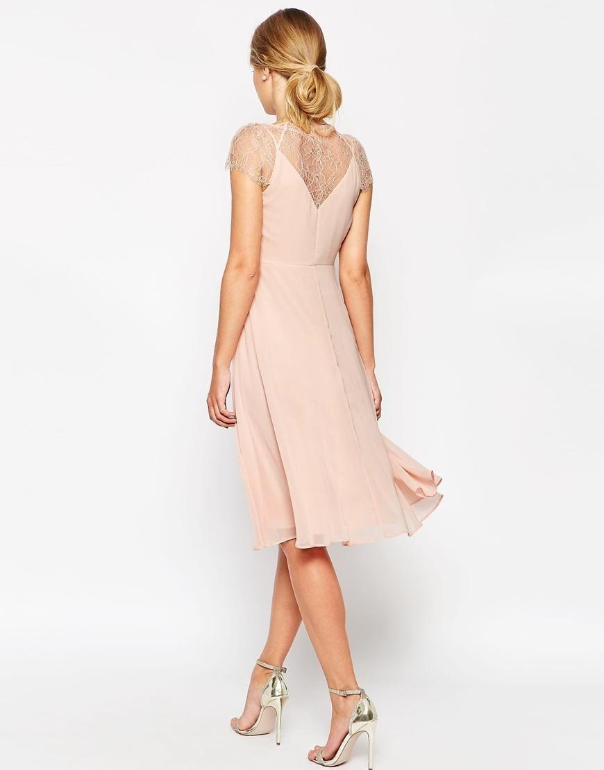 Kate Lace Midi Dress | Trauzeugin und Kleider