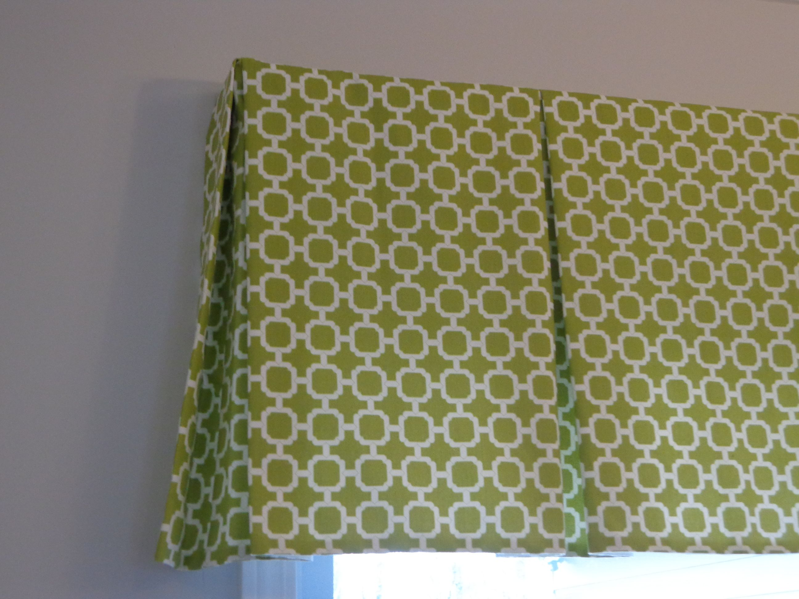 Guest Room Tailored Valance Like The Style Not Pattern